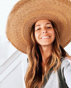 Palma Ultra Wide Boater Hat| Womens Straw Hats