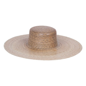 Womens Straw Hats| Palma Ultra Wide Boater Hat by Lack of Color