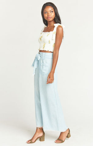 Lasso Pants - Shore Chambray