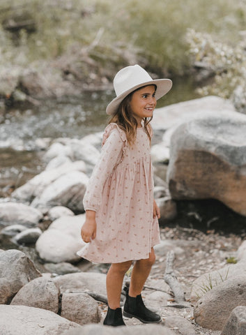 Leaf Embroidered Piper Dress Rylee Cru