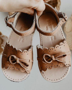 Leather Sustainable Sandals for Girls | The Humble Soles Amelia Sandals