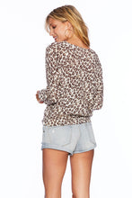 Load image into Gallery viewer, Leopard Sweater Beach Riot Pullover