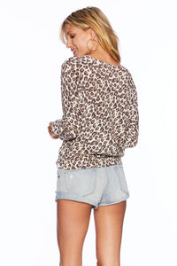 Leopard Sweater Beach Riot Pullover