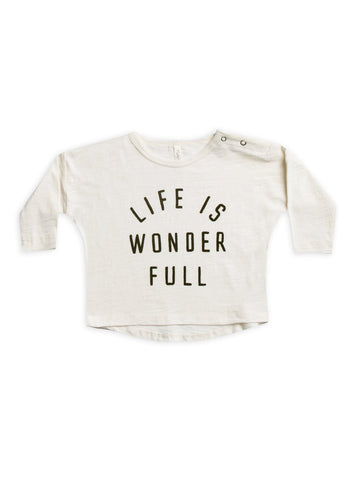 Life Is Wonderful Longsleeve Tee