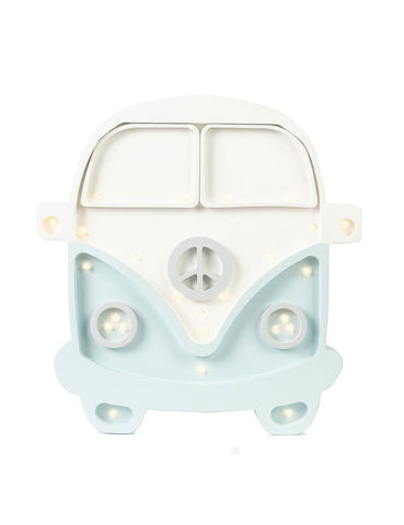 Little Lights Camper Van Lamp - White Blue