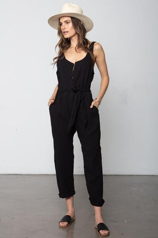 Lost In Love Jumpsuit - Black
