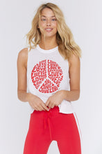Load image into Gallery viewer, Spiritual Gangster Love Crop Tank