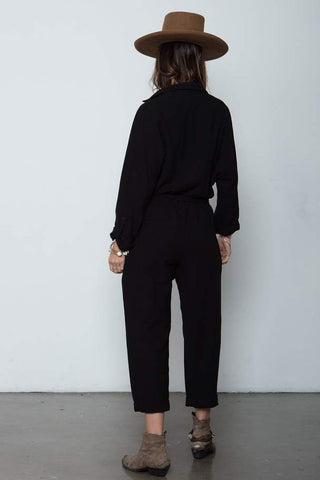The Luna Jumpsuit - Black