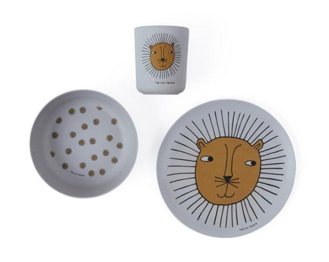 Lion Bamboo Tableware