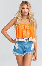 Load image into Gallery viewer, Sasha Swing Tassel Top by Show Me Your Mumu