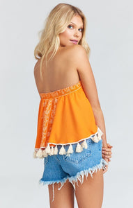 Sasha Swing Tassel Top by Show Me Your Mumu