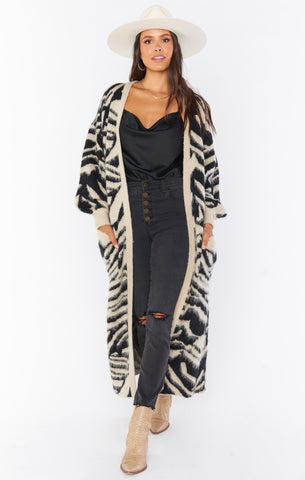 Out and About Cardi - Tigre Knit