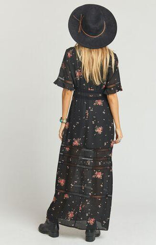 Tabitha Maxi Dress Dancing Floral
