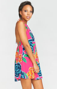 Katy Halter Dress Floratopia by Show Me Your Mumu