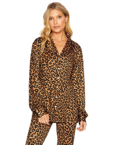Mary Blouse & Natalie Pant - Leopard | Beach Riot - Fall 2020 - Women's Loungewear