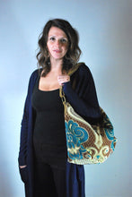 Load image into Gallery viewer, Mediterranean Hobo Bag by Mushmina