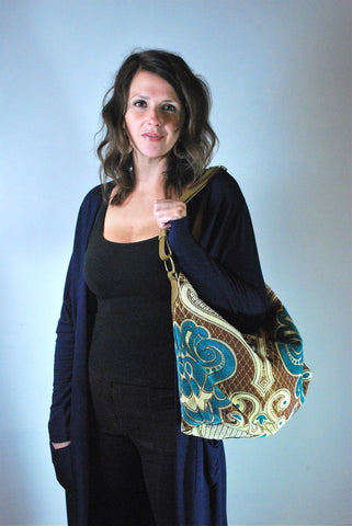 Mediterranean Hobo Bag