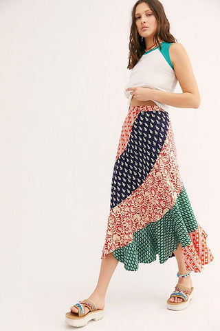 Medley Maxi Skirt by Free People | Bohemian Mama