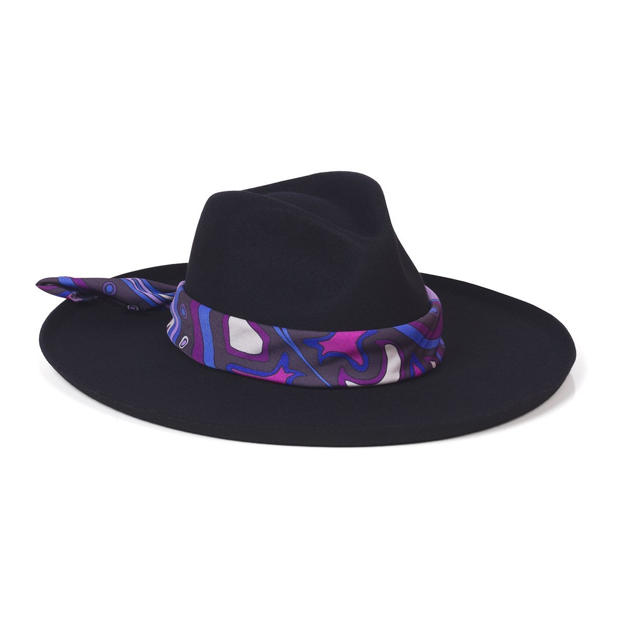 Melodic Fedora - Black | Lack of Color Women's Hats