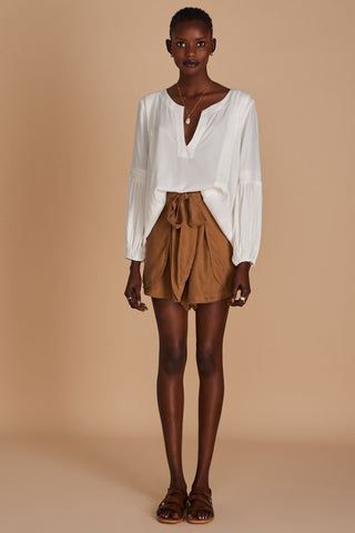 Sancia Mieko Blouse in White