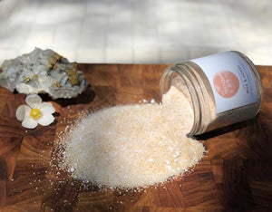 Milk & Honey Infused Salt from Moon Bath - Health & Beauty