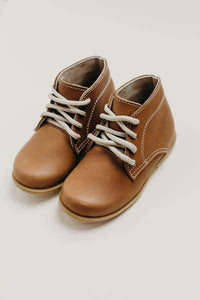 Humble Soles Milo Boots - Brown | Toddler Leather Boots