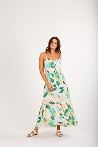 Mindy Midi Tropical Dress by Cleobella | Summer Dresses