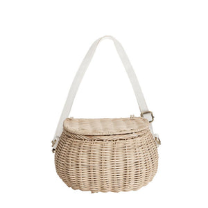 Mini Chari Straw Olli Ella Rattan Bag