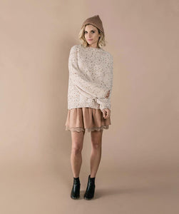 Mini Skirt - Truffle