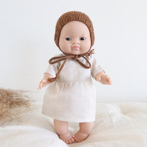 MiniKane Little Asian Baby Doll - Brown Eyes