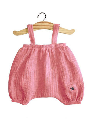 MiniKane Little Girl Doll Kim Bloomer - Rose Pink