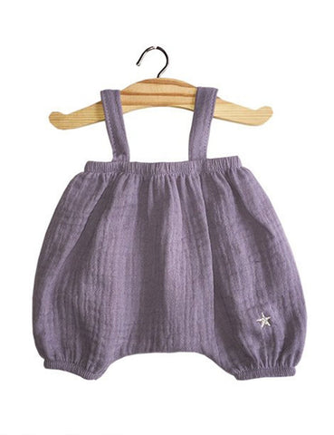 MiniKane Little Girl Doll Kim Bloomer - Lavender