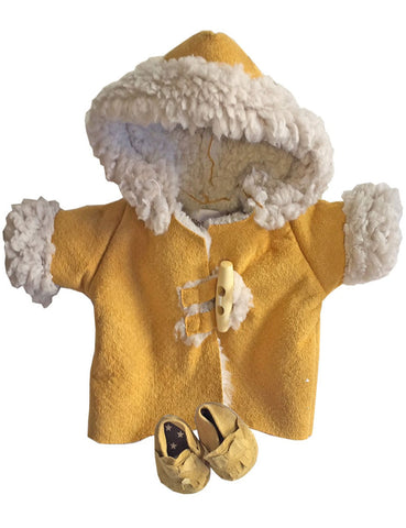 Minikane Winter Coat Set - Mustard