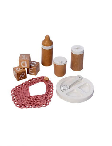 MiniKane Wooden Meal Kit - 9 Pieces