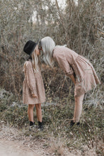 Load image into Gallery viewer, Rylee & Cru Caramel Ditsy Janie Dress | fall Apparel for women