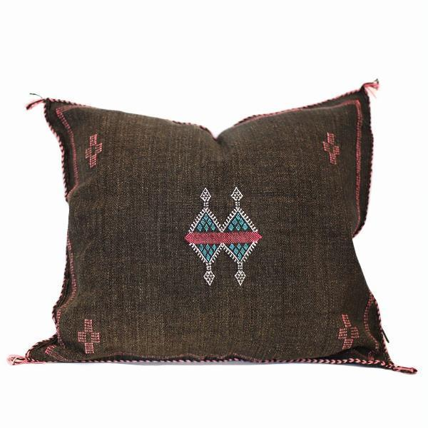 Moroccan Cactus Silk Pillow, Vogue by Moon Water Co.