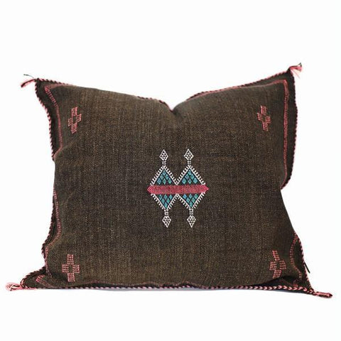 Moroccan Cactus Silk Pillow, Vogue