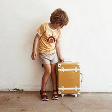 Load image into Gallery viewer, Kids Luggage | Olli Ella Seeya Suitcase in Mustard