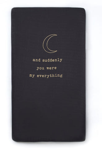 My Everything Crib Sheet from Coveted Things