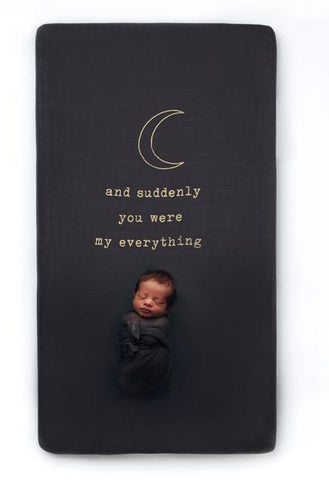 My Everything Organic Cotton Crib Sheet