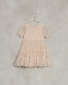 Noralee Dottie Dress Light Peach