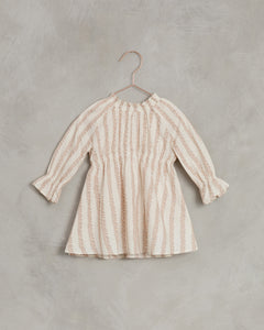 Noralee Rose Striped Chloe Dress Shell