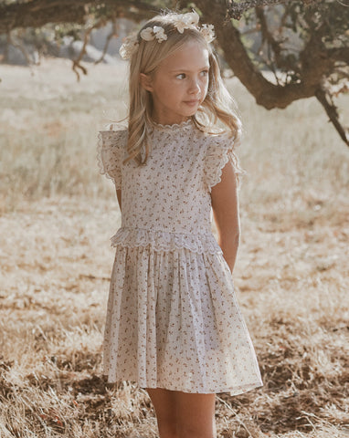 Gold Fleur Alice Dress Shell