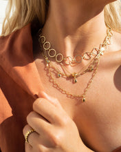 Load image into Gallery viewer, Nour Mixed Chain Necklace - Gold | Luv AJ Women's Jewelry