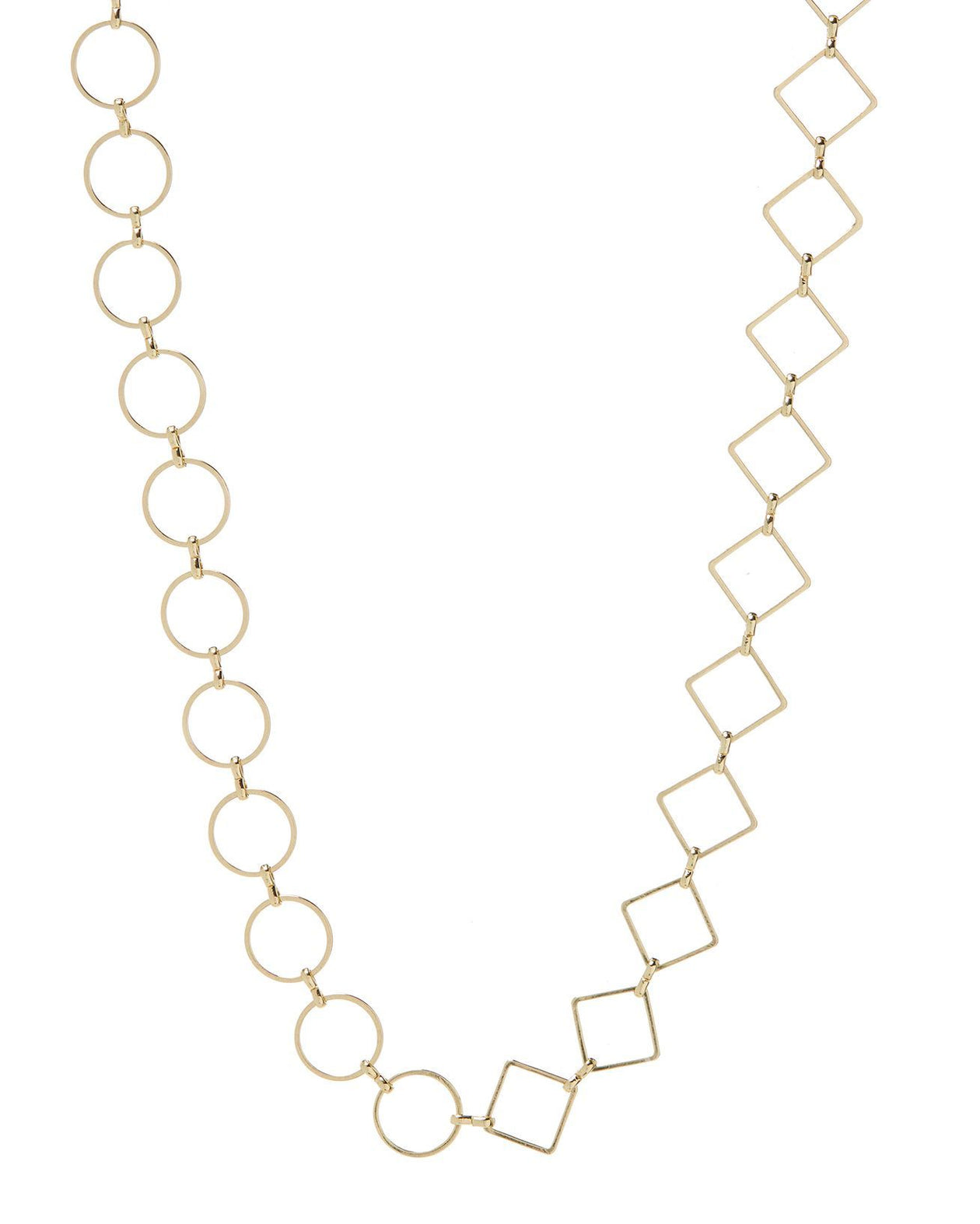 Nour Mixed Chain Necklace - Gold | Luv AJ Women's Jewelry