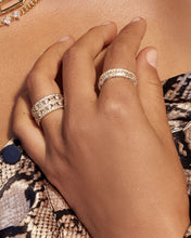 Load image into Gallery viewer, Pave Triple Band - Gold | Luv Aj - Holiday 2020
