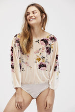 Load image into Gallery viewer, Velvet Slouchy Babe Bodysuit by Free People