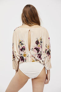 Velvet Slouchy Babe Bodysuit by Free People