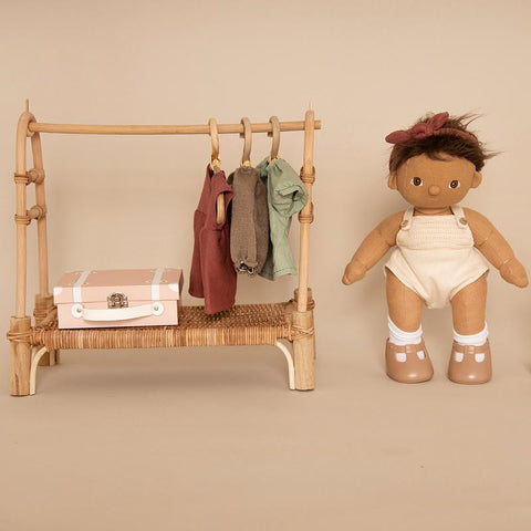 Dinkum Doll Clothing Rail - Natural
