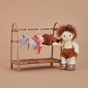 NEW Dinkum Doll Clothing Rail - Natural